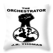 The Orchestrator Cover Throw Pillow