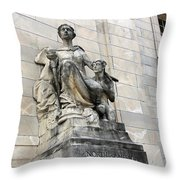 The Organization Of American States -- North America Throw Pillow