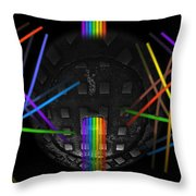 The Origin Of Light Throw Pillow