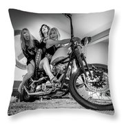 The Original Troublemakers- Throw Pillow by JD Mims