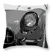 The Original Vette Throw Pillow