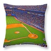 The Original Yankee Stadium Throw Pillow