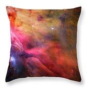 The Orion Nebula Close Up I Throw Pillow