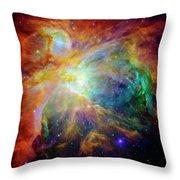 The Orion Nebula Close Up II Throw Pillow