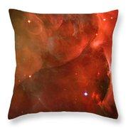 The Orion Nebula Close Up Iv Throw Pillow