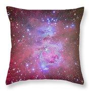 The Orion Nebula Region Throw Pillow