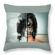 The Other Half Of Me Throw Pillow