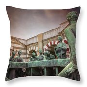 The Other Last Supper In Milan Italy Throw Pillow