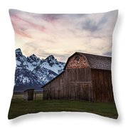 The Other Moulton Barn Throw Pillow