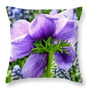 The Other Side Of Anemone   Throw Pillow