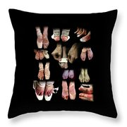 The Other Side Of Ballet. Throw Pillow