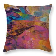 The Other Side Of Darkness Throw Pillow