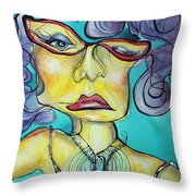 The Other Side Of Her Throw Pillow