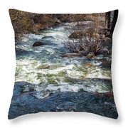 The Other Side Of The River Throw Pillow