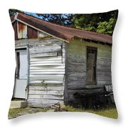 The Other Side Of This Old House Throw Pillow