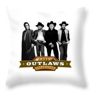 The Outlaws Collection Throw Pillow