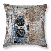 The Outlet Throw Pillow