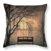 The Outlook Throw Pillow