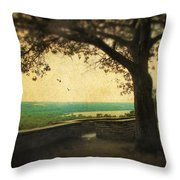 The Overlook Throw Pillow