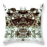 The Overlord Throw Pillow