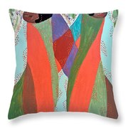 The Overseers Throw Pillow