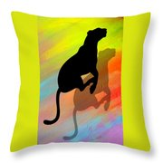 The Pace Throw Pillow