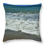 The Pacific Ocean Throw Pillow