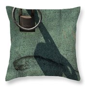 The Padlock, Ring And Shadow Throw Pillow