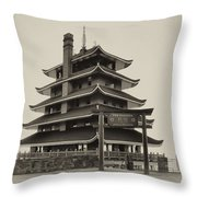 The Pagoda - Reading Pa. Throw Pillow