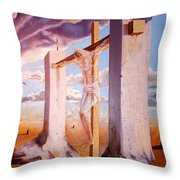 The Pain Holder Throw Pillow