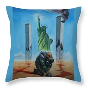 The Pain Holder II Throw Pillow