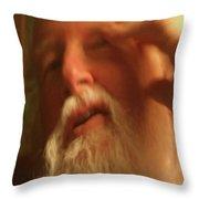 The Painter Throw Pillow
