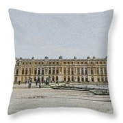 The Palace Of Versailles Throw Pillow