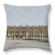 The Palace Of Versailles Throw Pillow
