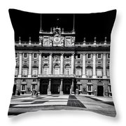 The Palacio Real, Madrid  Throw Pillow