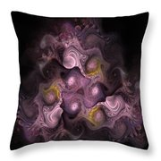 The Palatine Hill - Fractal Art Throw Pillow