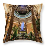 The Palazzo Inside Main Entrance Throw Pillow