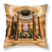 The Palazzo Inside Main Entrance Very Wide Throw Pillow