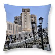 The Palazzo Throw Pillow
