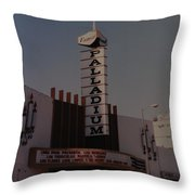 The Palladium Throw Pillow