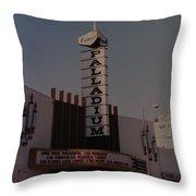 The Palladium Throw Pillow