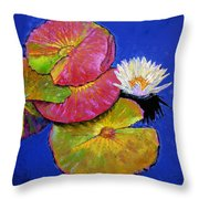 The Palletes Of Fall Throw Pillow