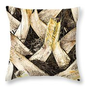 The Palm Throw Pillow