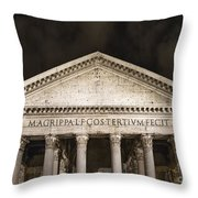 The Pantheon Throw Pillow