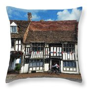 The Paperboy Throw Pillow