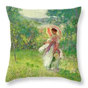 The Parasol Throw Pillow
