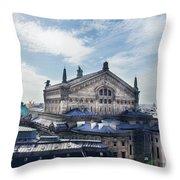 The Paris Opera 3 Art Throw Pillow