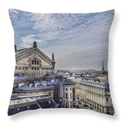 The Paris Opera 5 Art Throw Pillow