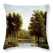 The Park At Mortefontaine Throw Pillow