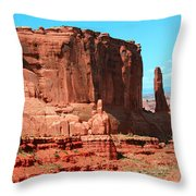The Park Avenue Courthouse Spectacle Throw Pillow